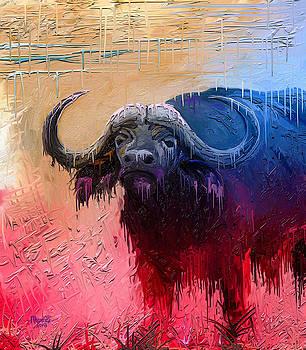 Dripping Buffalo by Anthony Mwangi