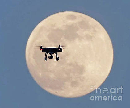 Drone Me To The Moon by Pictures Over Stillwater