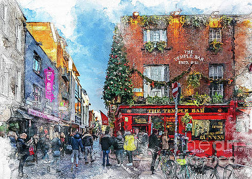 Justyna Jaszke JBJart - Dublin art watercolor
