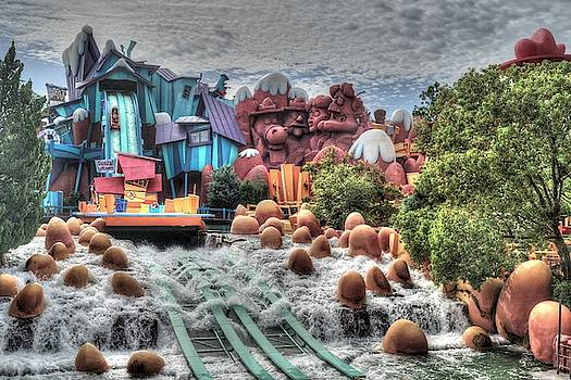 Dudley Do-Right's Ripsaw Falls by Randy Dyer