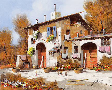 Due Portoni Rossi by Guido Borelli
