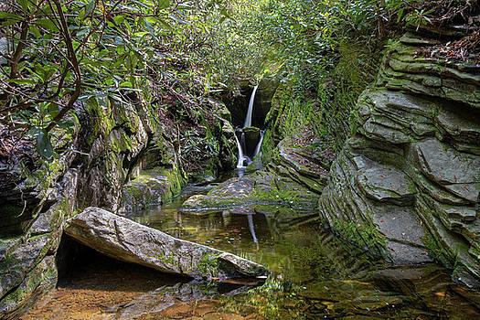 Duggers Creek Reflections by Norma Brandsberg