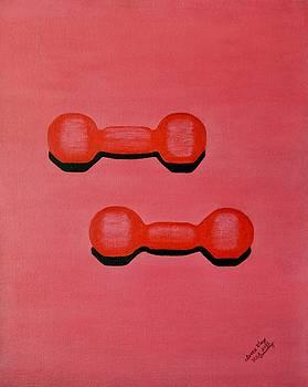 Dumbbell by Lorna Maza
