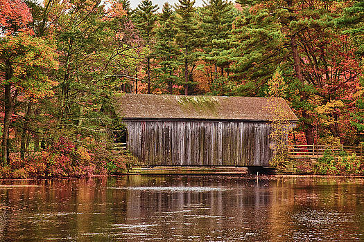 Dummerston Covered bridge at Sturbridge Village by Jeff Folger