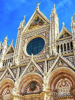 John Rizzuto - Duomo di Siena Facade Dimensions