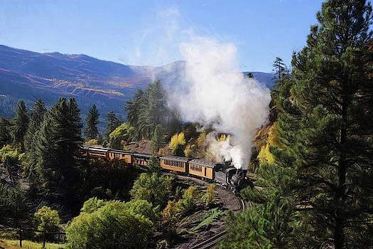 Durango Silverton Rails by Sharon Batdorf