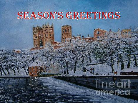 Durham Christmas Greetings by Neal Crossan