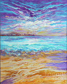 Dusk at the Beach by Marilyn Young