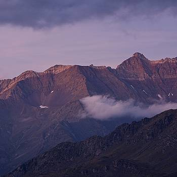 Dusk on Pic du Tentes by Stephen Taylor