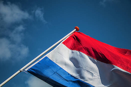 Dutch Flag by Anjo Ten Kate
