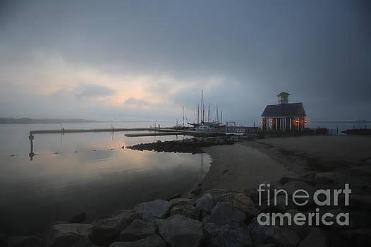 Early Morning at Yorktown Marina  by Rachel Morrison