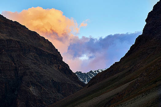 Early Morning Clouds in Sarchu by Whitney Goodey