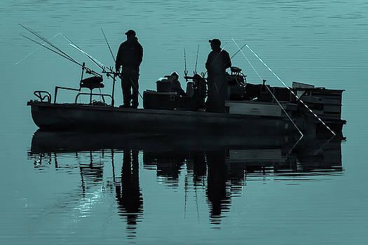 Early Morning Fishing by David Wagenblatt