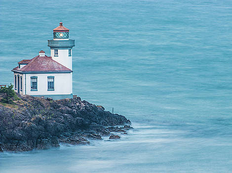 Early Morning Lime Kiln Lighthouse by Jordan Hill