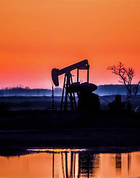 Early Morning Oil by Steve Marler