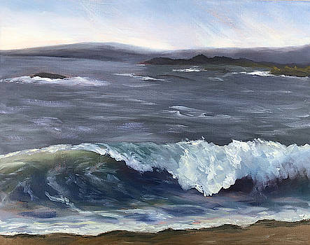 Early Morning Wave by Nancy Goldman