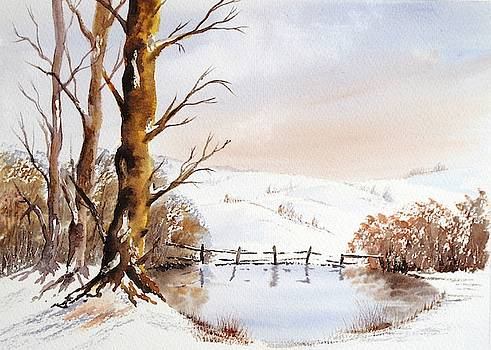 Early snowfall by Anne Kerr