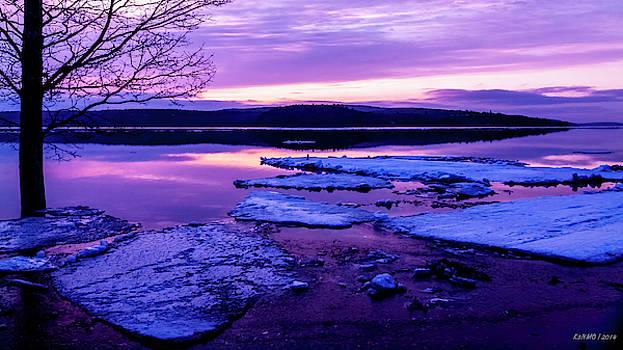 Early Spring Sunrise in New Brunswick #01 by Ken Morris