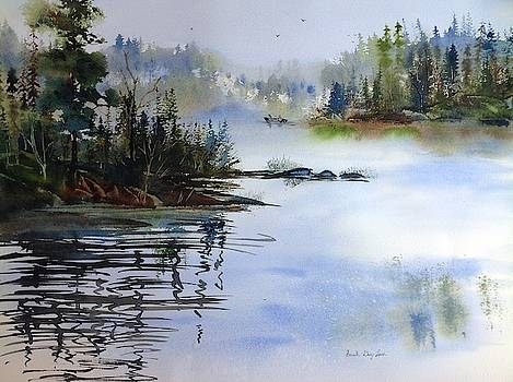 Early Start on Basswood Lake by Sarah Guy-Levar