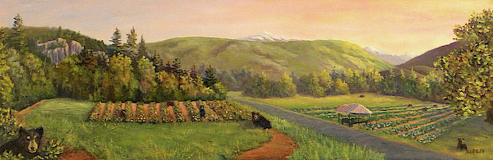 Early Summer Morning by Sharon E Allen
