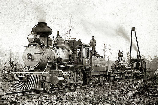 Daniel Hagerman - EAST TEXAS LOGGING TRAIN c. 1910