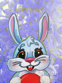 Easter Bunny by Jasna Dragun