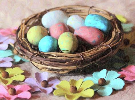 Cathy Lindsey - Easter Eggs And Faux Flowers 10