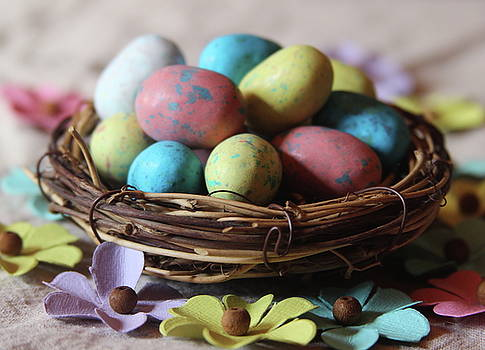 Cathy Lindsey - Easter Eggs And Faux Flowers 11