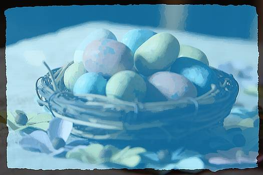 Cathy Lindsey - Easter Eggs And Faux Flowers 12