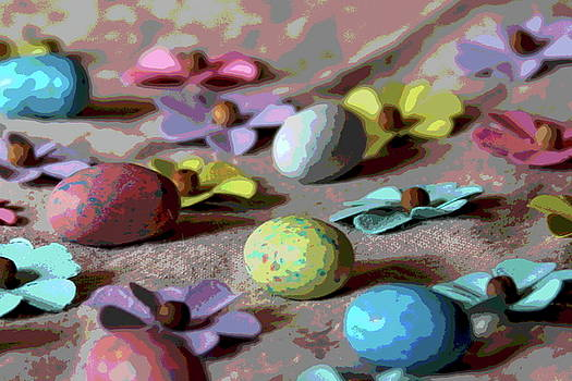 Cathy Lindsey - Easter Eggs And Faux Flowers 2