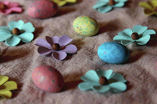 Cathy Lindsey - Easter Eggs And Faux Flowers 4