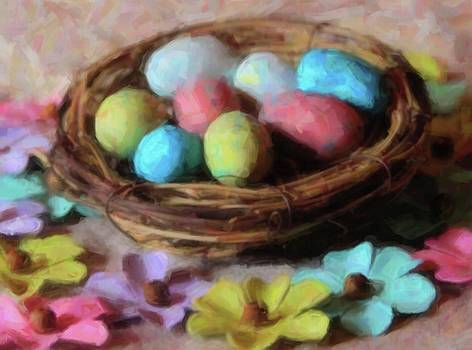 Cathy Lindsey - Easter Eggs And Faux Flowers 8