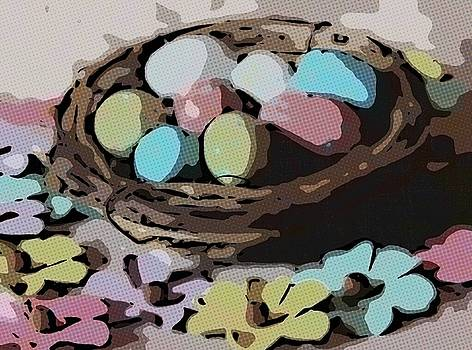 Cathy Lindsey - Easter Eggs And Faux Flowers 9
