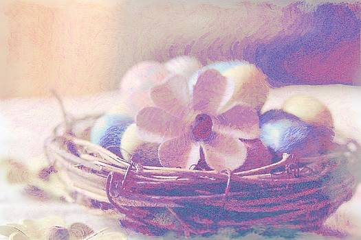 Cathy Lindsey - Easter Eggs And Flower In Nest 5