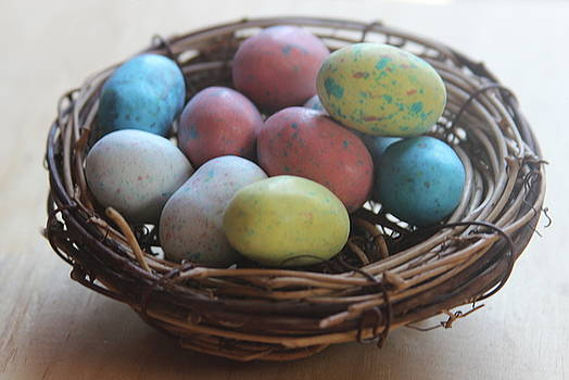 Cathy Lindsey - Easter Eggs In A Nest 2