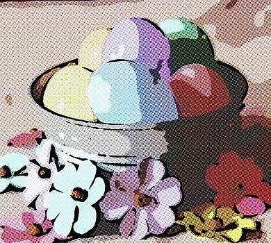 Cathy Lindsey - Easter Eggs In Galvonized Tub 5