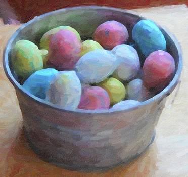 Cathy Lindsey - Easter Eggs In Metal Tub 2