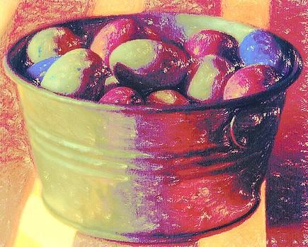 Cathy Lindsey - Easter Eggs In Metal Tub 4