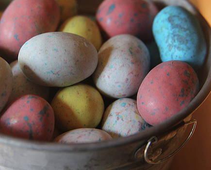 Cathy Lindsey - Easter Eggs In Metal Tub 5