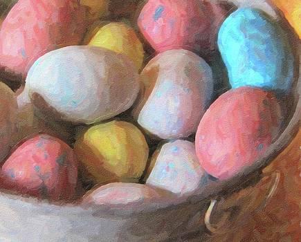 Cathy Lindsey - Easter Eggs In Metal Tub 6