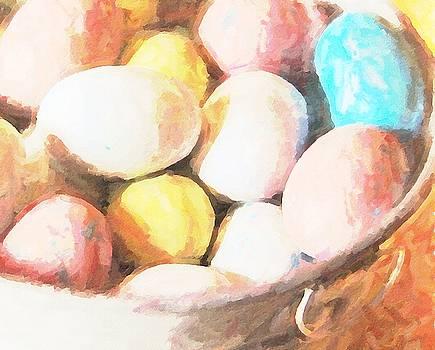 Cathy Lindsey - Easter Eggs In Metal Tub 7