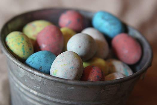 Cathy Lindsey - Easter Eggs In Metal Tub 8
