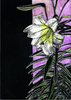 Easter Lily by Robert Goudreau