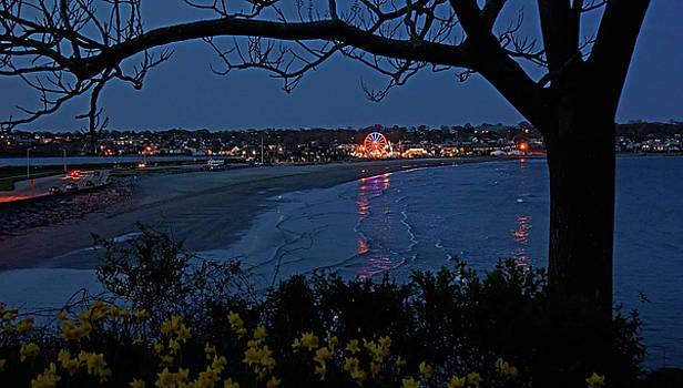 Easton's Beach at Nightfall by William Jobes