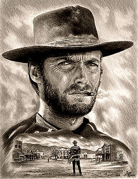 Eastwood sepia by Andrew Read