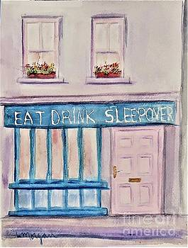 Eat Drink Sleepover by Laurie Morgan