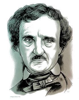 Edgar Allan Poe 2 by Greg Joens