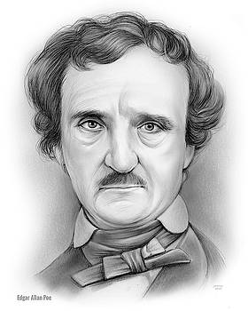 Edgar Allan Poe by Greg Joens