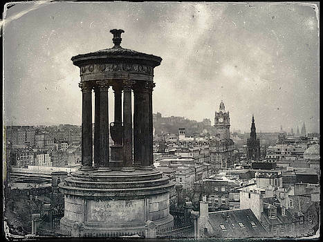 Edinburgh from Calton Hill I by Dave Bowman