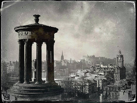 Edinburgh from Calton Hill II by Dave Bowman